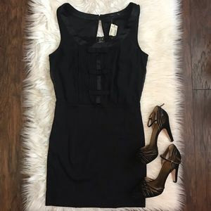 NWT American Eagle Black Mini Sheath Dress